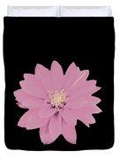 Mauve Flower Duvet Cover