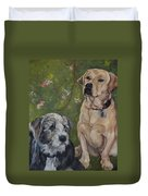 Max And Molly Duvet Cover