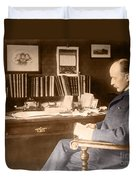 Max Planck, German Physicist Duvet Cover