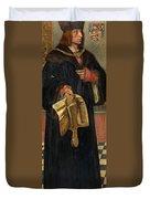 Maximilian I Holy Roman Emperor Duvet Cover