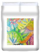 May Day Is Lei Day Duvet Cover