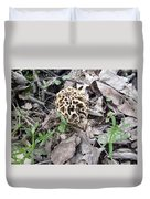 May Morel Mushroom Duvet Cover