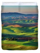 May On The Palouse  Duvet Cover
