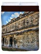 Mayan Graffiti  Duvet Cover