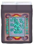 Mayan Prince Duvet Cover