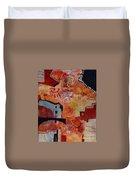 Mayan Shaman Duvet Cover