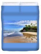 Mayaro Beach Trinidad Duvet Cover