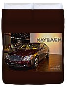 Maybach Limo Duvet Cover