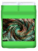 Mayhem Swirl Behind The Safety Net Catus 1 No. 1 H A Duvet Cover