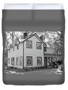 Mayors House Black And White Duvet Cover
