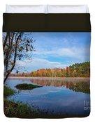 Mayor's Pond, Autumn, #1 Duvet Cover