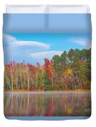 Mayor's Pond, Autumn, #4 Duvet Cover