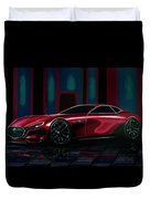 Mazda Rx Vision 2015 Painting Duvet Cover