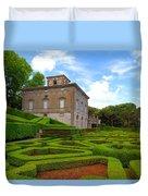Mazed Garden Duvet Cover