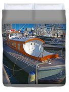 Mb 172 Epic Lass In Darling Harbour Duvet Cover