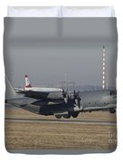 Mc-130h Combat Talon II Of The U.s. Air Duvet Cover