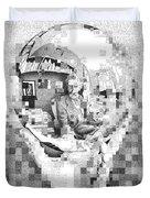 Mc Escher In His Own Words Duvet Cover