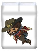 Mccree Usa Duvet Cover
