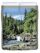 Mcdonald Creek 1 Duvet Cover