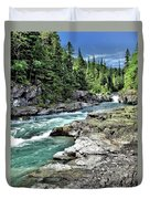 Mcdonald Creek 2 Duvet Cover