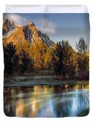 Mcgown Peak Sunrise  Duvet Cover