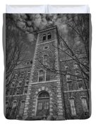 Mcgraw Hall - Bw Duvet Cover