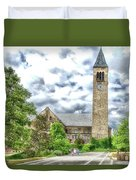 Mcgraw Tower Cornell University Ithaca New York Pa 10 Duvet Cover