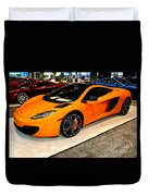 Mclaren 12c Coupe Duvet Cover