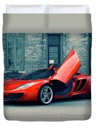 Mclaren Mp4-12c Duvet Cover