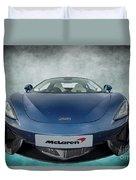Mclaren Sports Car Duvet Cover