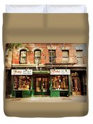 Mcnulty's Tea And Coffee Vintage Duvet Cover