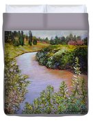 Meadow And Marsh Duvet Cover