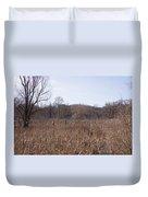 Meadow At Arnold Arboretum Duvet Cover
