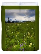 Meadow Beneath The Storm Duvet Cover