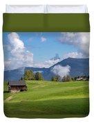 Meadow In Alpe Di Siusi Duvet Cover