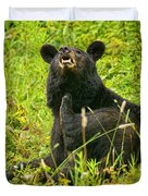 Meadow Itch Bear Duvet Cover