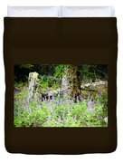 Meadow Lupine Duvet Cover