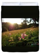Meadow Sunset Duvet Cover