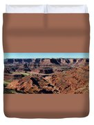 Meander Overlook - Dead Horse Point - Panorama Duvet Cover