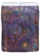 Meandering Acquiescence Duvet Cover