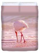 Meandering Beauty Cortez Beach Duvet Cover