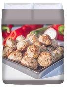 Meat Balls Duvet Cover