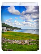 Meat Cove Duvet Cover