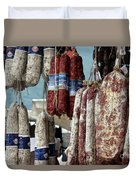 Meats And Sausages  Duvet Cover