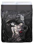 Mechanical Girl Duvet Cover