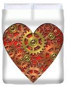 Mechanical Heart Duvet Cover
