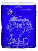 Mechanical Horse Patent Art 1b           Duvet Cover