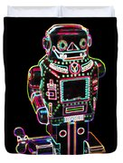 Mechanical Mighty Sparking Robot Duvet Cover