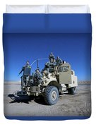 Medical Personnel Pose For A Group Duvet Cover