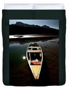 Medicine Lake In Jasper National Park Duvet Cover